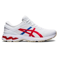 Asics GEL-KAYANO 26 1011A771 100-WHITE/CLASSIC RED 2020