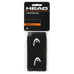 HEAD Wristband 2,5' 285075 Black