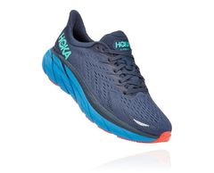 HOKA ONE ONE M CLIFTON 8 WIDE 1121374 OUTER SPACE / VALLARTA BLUE 2021