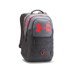 Under Armour Big Logo 5.0 gray/red 1300296-035