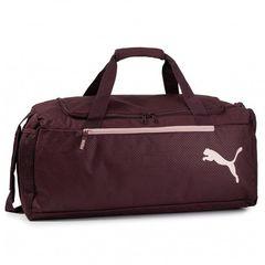 Puma Fundamentals Sports Bag M vineyard wine 07552811