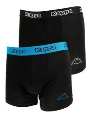 Трусы Kappa Boxers 2-pack black/blue 304JB30 986
