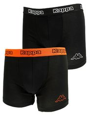 Трусы Kappa Boxers 2-pack black/orange 304JB30 987
