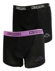 Трусы Kappa Boxers 2-pack black/violet 304JB30 988