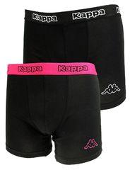 Трусы Kappa Boxers 2-pack black/pink 304JB30 979