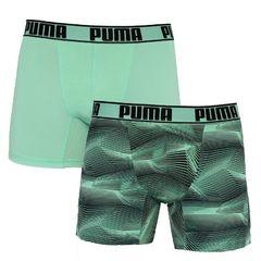 Трусы Puma Active Boxer 2-pack green/black 501010001 003