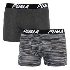 Трусы Puma Bold Stripe Boxer 2-pack gray 501002001 200