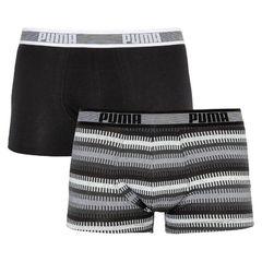 Трусы Puma Worldhood Stripe Trunk 2-pack black/gray/white 501004001 200